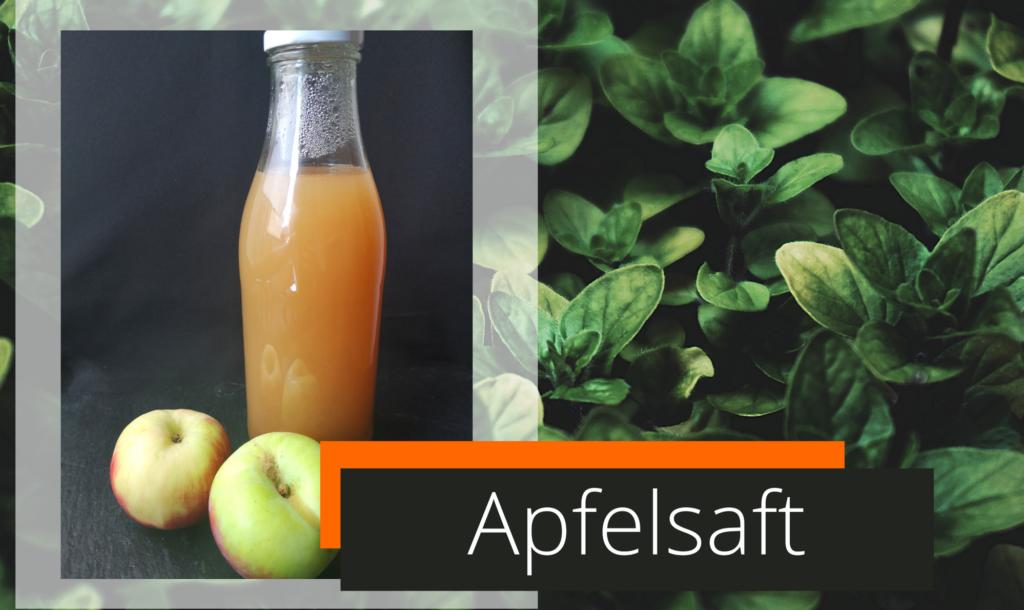 Apfelsaft Ohne Zucker
